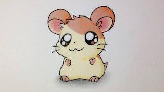 Comment dessiner un Hamster Kawaii [Tutoriel]
