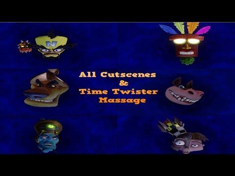 Crash Bandicoot N sane Trilogy All warped Cutscene