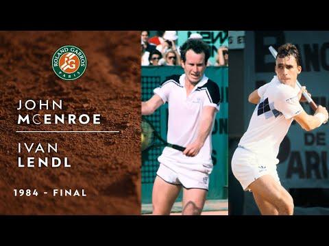 John McEnroe vs Ivan Lendl - Final | Roland-Garros 1984