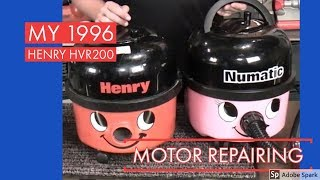 Holidays with HooverLux - 1996 Numatic Henry HVR200 Part 2 - Motor Repair, will he live?