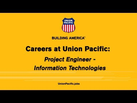 Union Pacific Railroad Jobs - IT Project Engineer