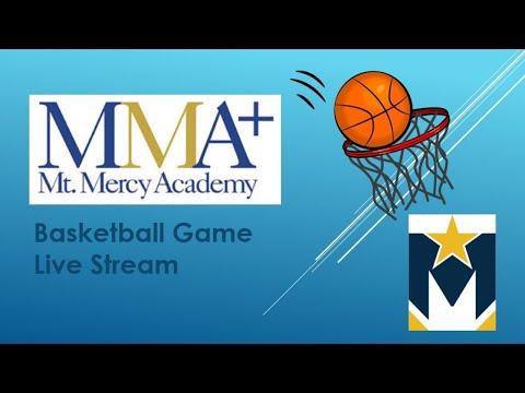 Mount Mercy Academy vs. Nichols DIVISION B SEMIFINAL Varsity Basketball  Playoff Game 3/11/21 5:00PM