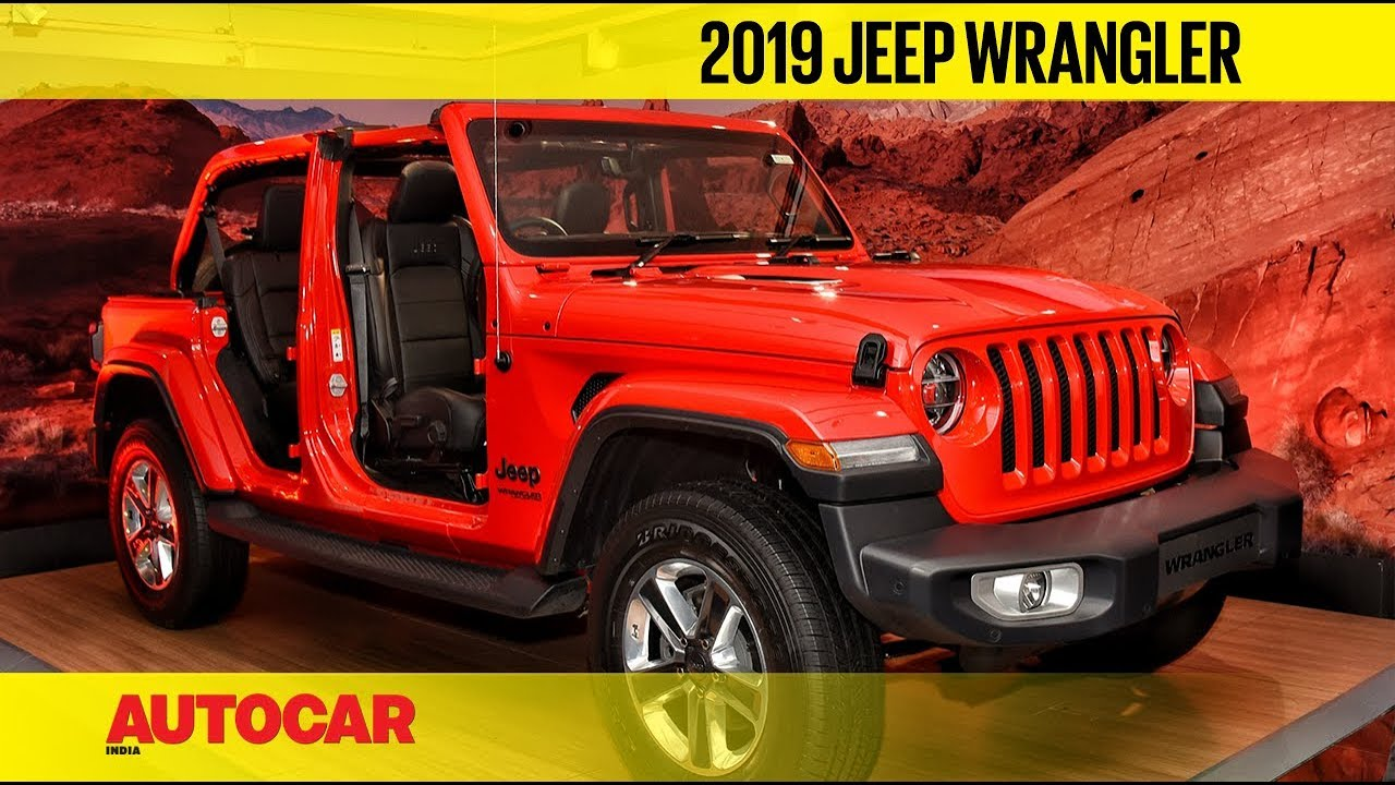 2019 Jeep Wrangler First Look Walkaround Autocar India Youtube