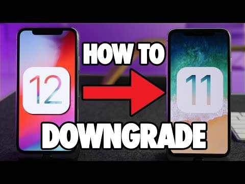 How to Downgrade iOS 12 to iOS 11.3.1 or 11.4! EASY!