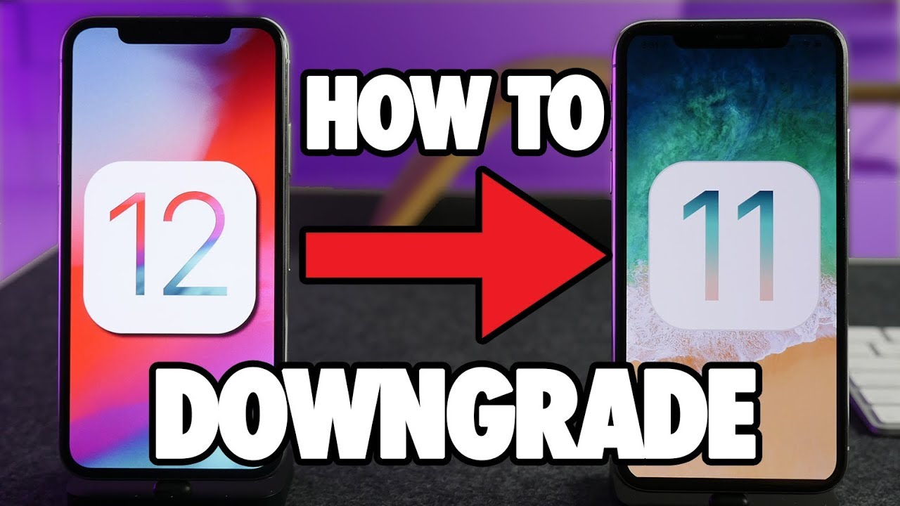 How to Downgrade iOS 12 to iOS 11 3 1 or 11 4! EASY!