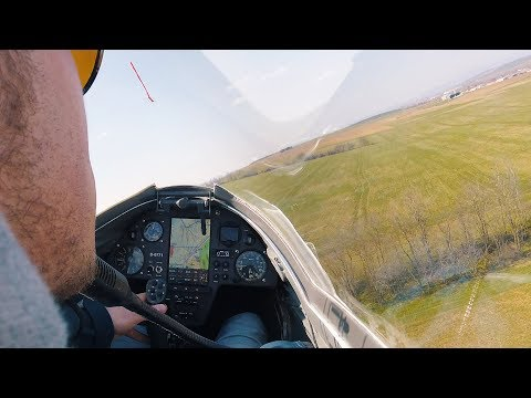Scary Glider Outlanding   Pure Flying Episode 2