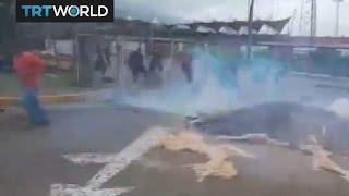 Anti-government protests in Venezuela turn violent