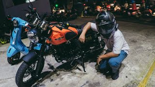 #1 | CLEVELAND ACE 250 (Scrambler) Testride #motovlogindonesia