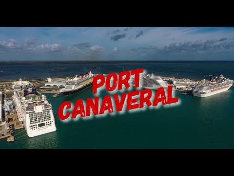 Port Canaveral Florida | Cruise Ships | SpaceX Landing Pad