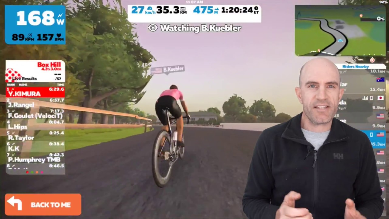 Swift Zwift Tip: How to Hide Leaderboards and Rider Lists (iOS)