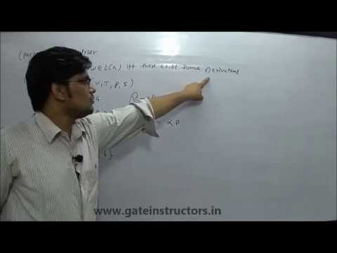 Grammars, Derivation, Parsing, Parse tree, LMD & RMD, Leftmost and Rightmost Derivation   25
