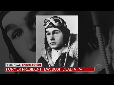 Former President George H.W. Bush Dies At 94