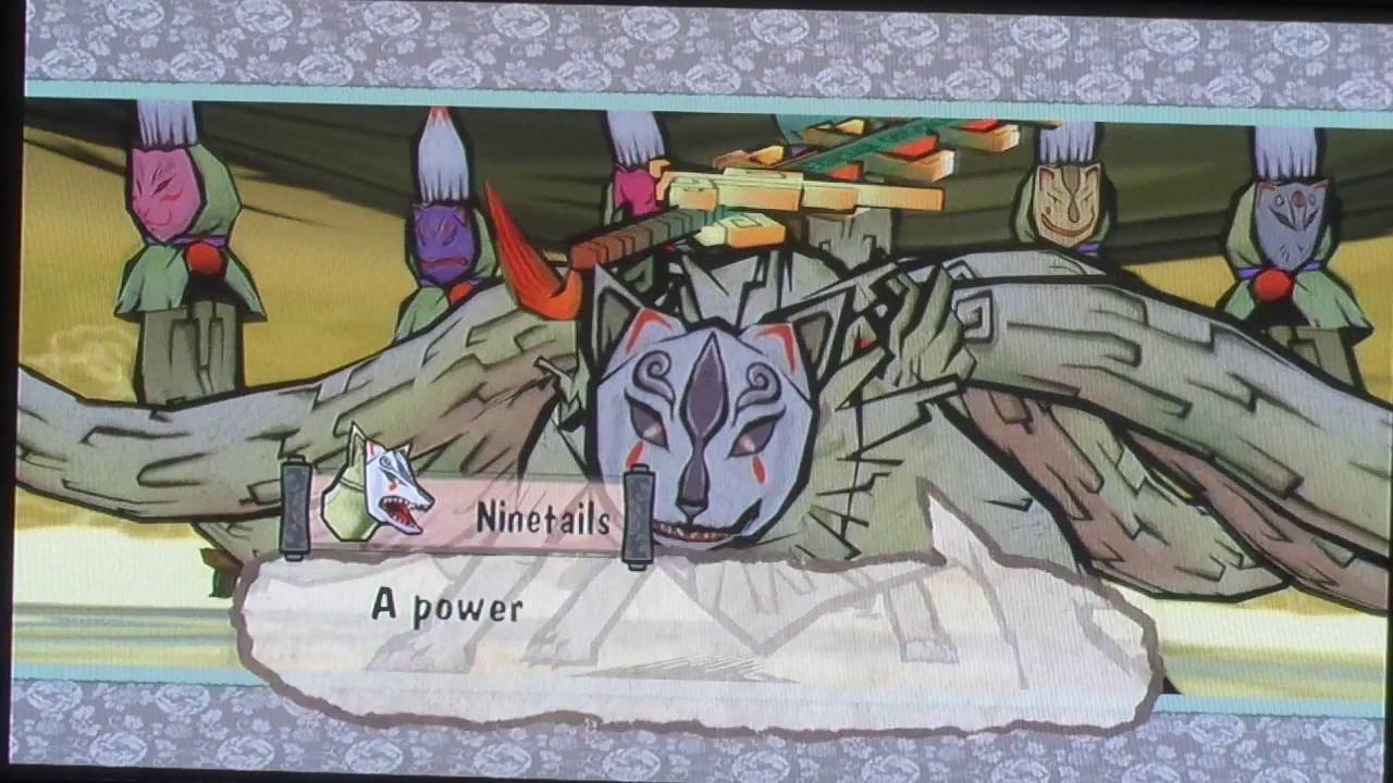 Okami Ninetails Battle - YouTube
