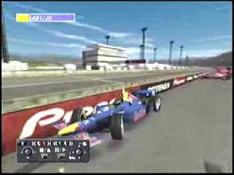 Indy Car Crash Video Youtube