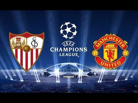 Match Sim / Sevilla FC vs Manchester United / UEFA Champions League 2017-2018 Octavos de Final /