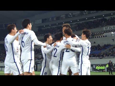 JAPAN - KOREA REP. Highlights (Men's) | EAFF E-1 Football Championship 2017 Final Japan