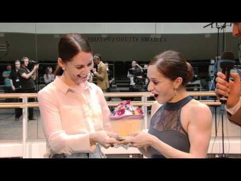 Marianela receives her birthday cake - Royal Ballet LIVE