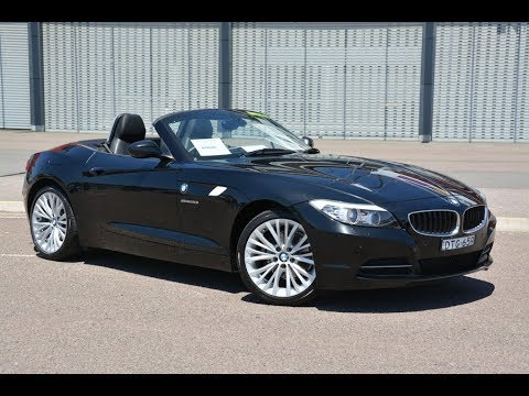 BMW Z4 Roadster Convertible 2012 only travelled 51,000 kms for sale @ Newcastle Vehicle Exchange
