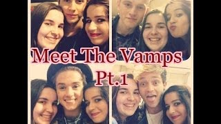The Fan Diaries - MEET THE VAMPS PT.1 (Madrid) thumbnail