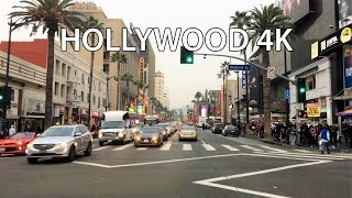 Driving Downtown - Hollywood - Los Angeles California USA