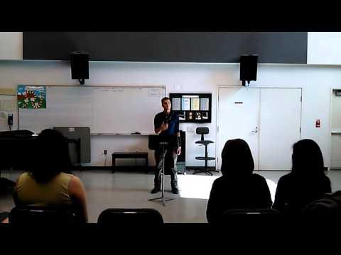 Mt San Antonio College Conducting class (final) 2015