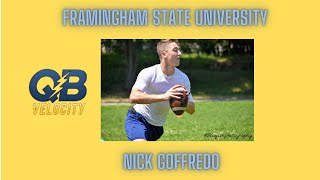 Workout with Framingham State QB Nick Goffredo