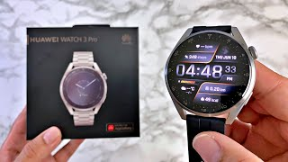 HUAWEI Watch 3 PRO ELITE Review - SUPERB Sapphire/Titanium Smartwatch - EVERYTHING You Need to Know!