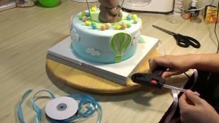 Как сделать подложку для торта своими руками [9] - Я ТОРТодел!