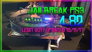 How To Jailbreak PS3 4.82 (UPDATED) Properly/Legit 2017/18 (E3Flasher) Riptych//JKM (LIVE TUT)