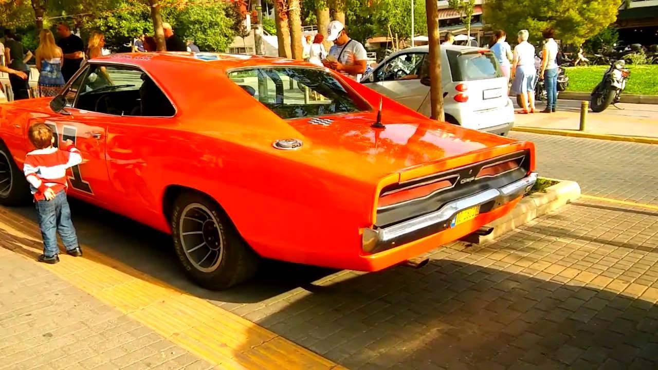 Αmerican Muscle Cars in Greece! (Old School Meeting) - YouTube
