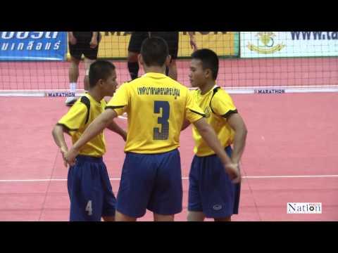 การแข่งขันตะกร้อชิงชนะเลิศแห่งประเทศไทย 20-02-2015