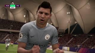 Матч: Манчестер Юнайтед vs Манчестер Сити (FIFA 18)
