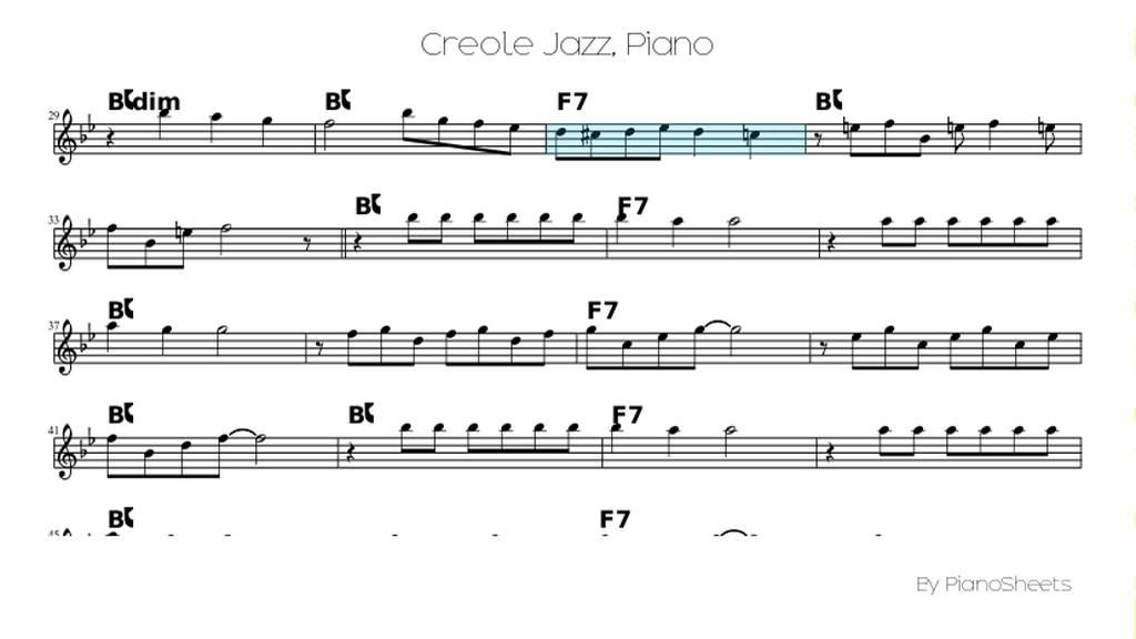 Creole Jazz [Piano Solo] - YouTube