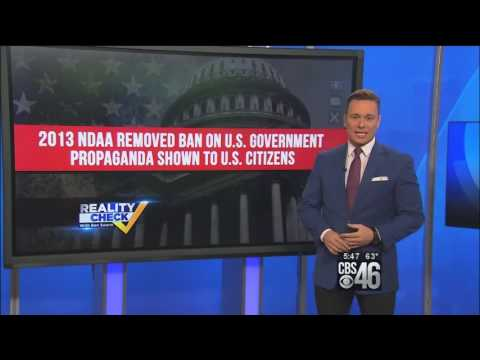 U.S. Congress Approves FUNDING Of Brainwashing Propaganda To Be Used Against the Public