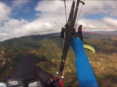 Paragliding in Zaachila, Oaxaca