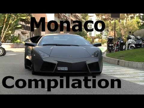 Supercars Sound in Monaco 2012 - Reventon, Zonda, Veyrons, Koenigsegg...