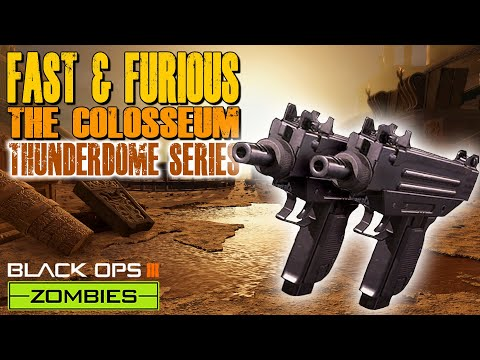 FAST & FURIOUS CHALLENGE - COLOSSEUM (Call of Duty Thunderdome Zombies)