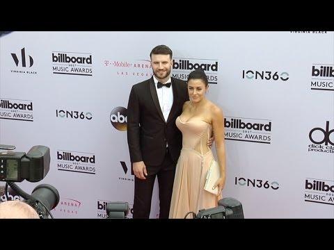 Sam Hunt And Hannah Lee Fowler 2017 Billboard Music Awards Magenta Carpet