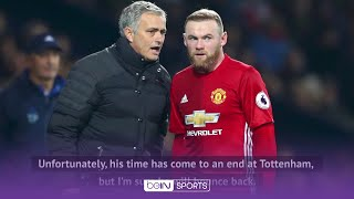 Rooney blasts sacking of ex-manager Jose Mourinho