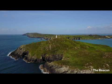 Baltimore, Co Cork, Ireland from the air (4K drone footage) - Jun 2017