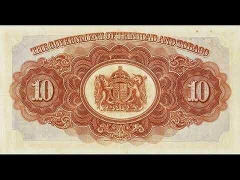 Paper Money Trinidad And Tobago Dollar Trinidad And Tobago Banknotes - Banknotes