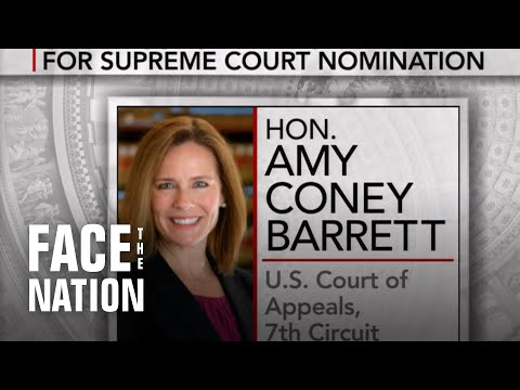 Trump eyes a female nominee to fill Ginsburg's vacant seat