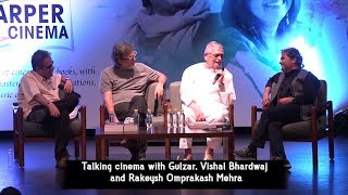 Talking cinema with Gulzar, Vishal Bhardwaj and Rakeysh Omprakash Mehra