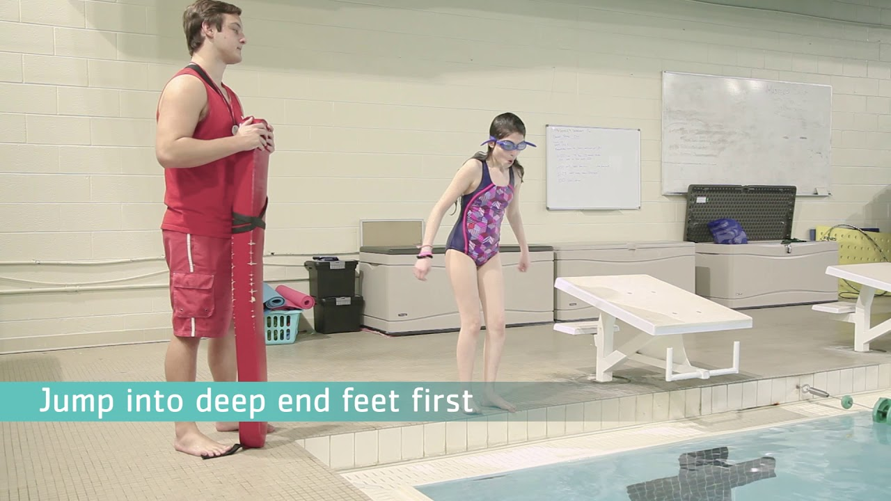 dd61b44de1e2 Swim Test 2018 - What lifeguards need to know - YouTube