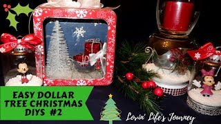 Easy Dollar Tree Christmas DIYs #2 | Christmas Decor and Gift Ideas