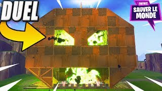Duel de Construction ! Fortnite Sauver le Monde