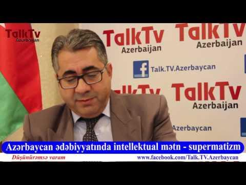 """""""Düşünürəmsə Varam"""" - Azərbaycan Ədəbiyyatında intellektual mətn - supermatizm"""