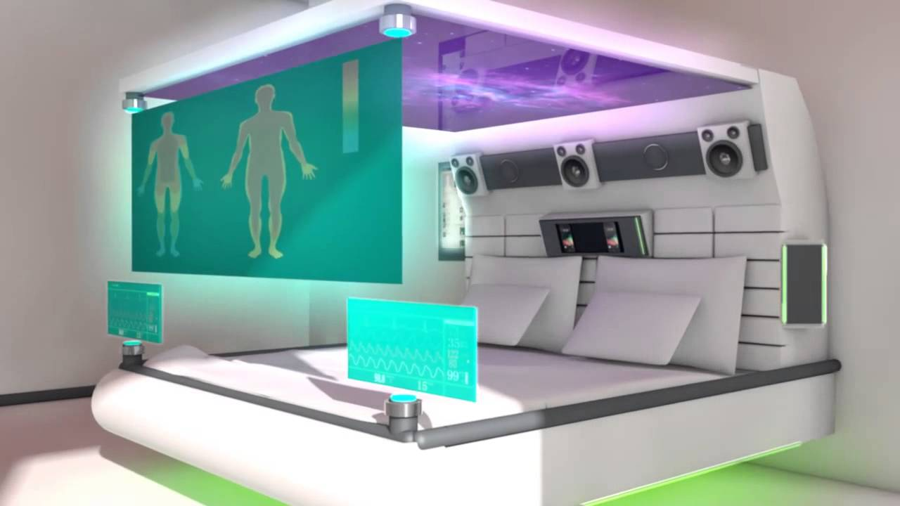 futuristic living room the bedroom of the future revealed 10515