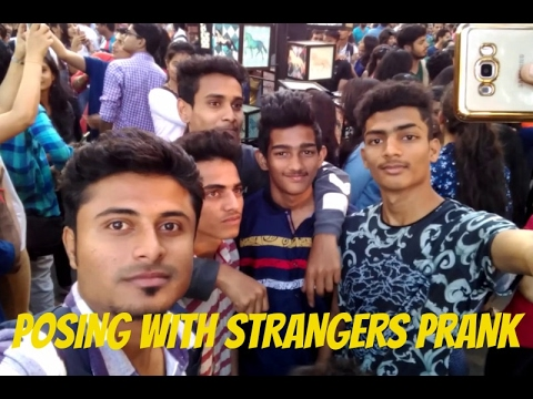 POSING WITH STRANGERS PRANK || EMBARRASSING PEOPLE || KALAGHODA ART FESTIVAL 2017