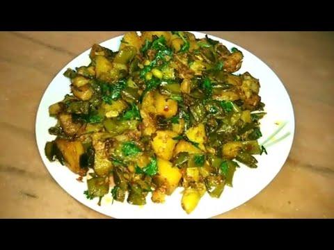 ALLOO SEM Ki PHALI ki Sabzi Recipe In Hindi | आलू सेम की फली की सब्जी बनाने की विधि | POTATO BEANS
